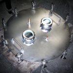 Coperchio per contenitore alta pressione